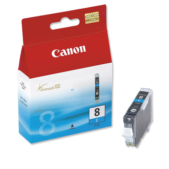 CLI-8C cyan ink cartridge